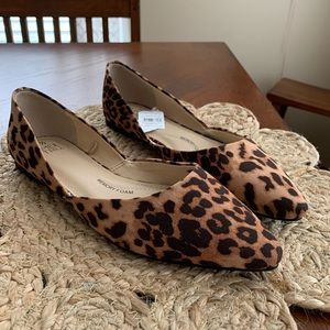 NWT Time and Tru leopard flats shoes Size 7.5
